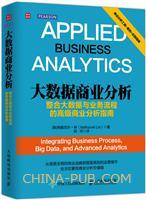 大数据商业分析:整合大数据与业务流程的高级商业分析指南