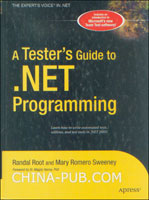 [特价书]A Testers Guide to .NET Programming (英文原版进口)