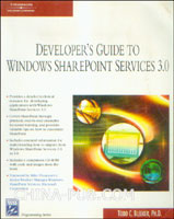 Developers Guide to the Windows SharePoint Services v3 Platform (英文原版进口)
