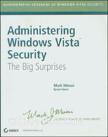 [特价书]Administering Windows Vista Security: The Big Surprises (英文原版进口)