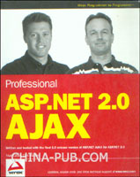 [特价书]Professional ASP.NET 2.0 AJAX (英文原版进口)