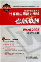 (特价书)Word 2003中文版处理