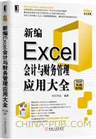 (特价书)新编Excel会计与财务管理应用大全(2016实战精华版)