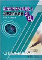 (特价书)神经网络与机器人科研项目申请与实践