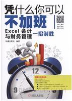 凭什么你可以不加班:Excel会计与财务管理一招制胜