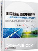 中国新能源发展研究 基于能源效率视角的分析与研究