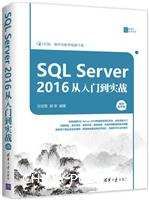 SQLServer2016从入门到实战(视频教学版)(数据库技术丛书)