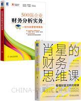 [套装书]肖星的财务思维课+500强企业财务分析实务:一切为经营管理服务(2册)
