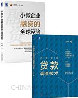 [套装书]小微企业贷款调查技术+小微企业融资的全球经验(2册)