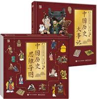 中国历史思维导图・大事记(全2册)