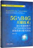 5G与B4G关键技术:部分信道信息下OFDMA和NOMA系统资源分配与优化