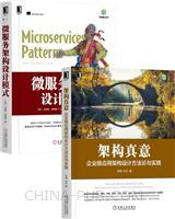 [套装书]架构真意:企业级应用架构设计方法论与实践+微服务架构设计模式(2册)
