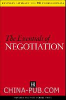 人力资源经理系列--谈判精要(英文原版进口)