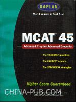 [特价书]MCAT医学院升学考试深度剖析(英文原版进口)
