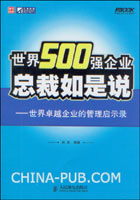 世界500强企业总裁如是说:世界卓越企业的管理启示录